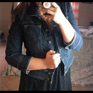 Juicy Couture Jeans Jean Jacket XL